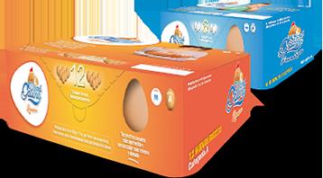 Descubre los huevos de Mamá Gallina