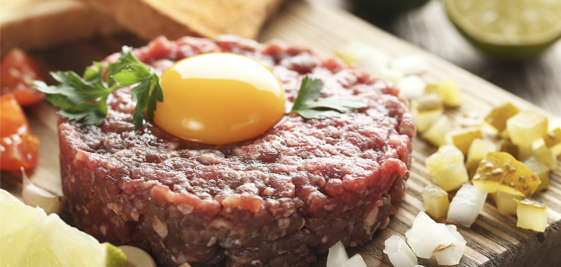 receta steak tartar